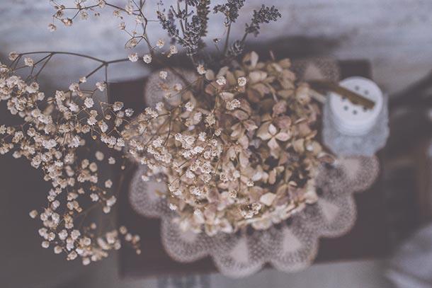 I Cucali | Bed & Breakfast | particolare fiori secchi