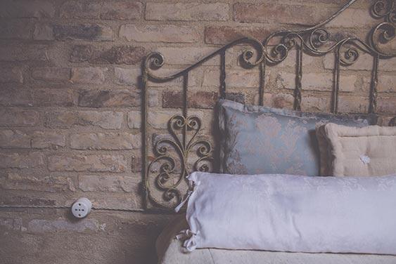 I Cucali | Bed & Breakfast | particolare ferro battuto